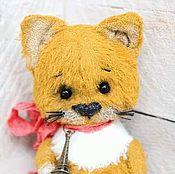 Куклы и игрушки ручной работы. Ярмарка Мастеров - ручная работа Рыжик. Котенок тедди. Handmade.