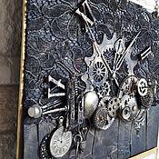 Календари ручной работы. Ярмарка Мастеров - ручная работа Стим-панк календарь Механика. Handmade.