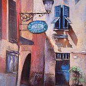 Картины и панно handmade. Livemaster - original item Painting Pastel, cityscape,