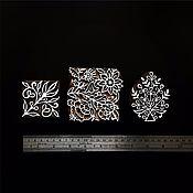 Материалы для творчества ручной работы. Ярмарка Мастеров - ручная работа Штампы для печати на ткани, набойки 3 ОРНАМЕНТА. Handmade.