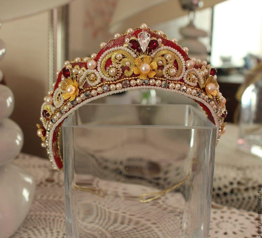 Кокошник или корона своими руками 66