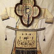Винтажная одежда ручной работы. Ярмарка Мастеров - ручная работа Винтажная одежда: Одежда: женский национальный халат. Handmade.