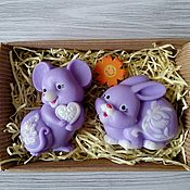 Косметика ручной работы handmade. Livemaster - original item The soap set for kids. Handmade.