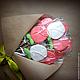 Кулинарные сувениры ручной работы. Ярмарка Мастеров - ручная работа. Купить Букет из пряничных роз. Handmade. День влюбленных
