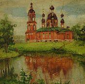 Этюд с храмом