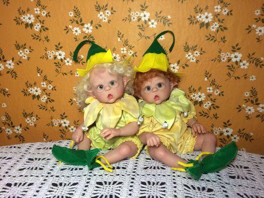 Куклы-младенцы и reborn ручной работы. Ярмарка Мастеров - ручная работа. Купить Мини Офельки. Handmade. Куклы, винил