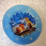 Подарки к праздникам ручной работы. Ярмарка Мастеров - ручная работа декоративная тарелка В ожидании весны. Handmade.