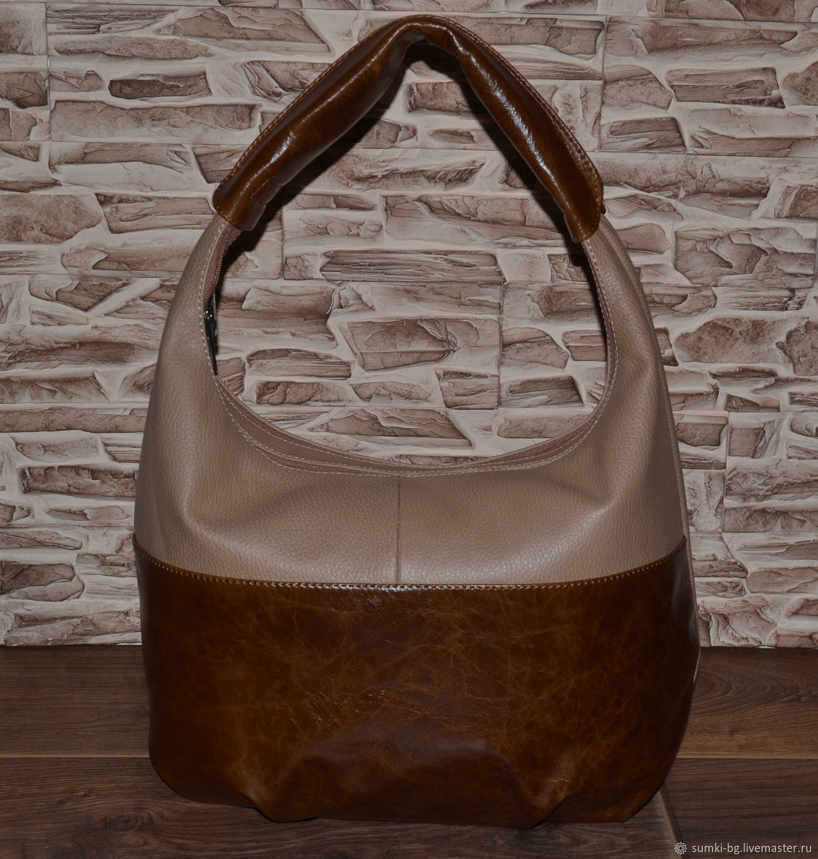 Bag women's leather Bag made of genuine leather. Model No. 38, Classic Bag, Bogorodsk,  Фото №1
