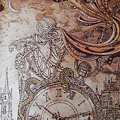 """Картины и панно ручной работы. Ярмарка Мастеров - ручная работа Картина """"Время пришло"""". Handmade."""