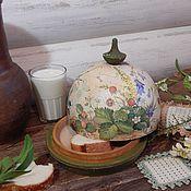 """Для дома и интерьера ручной работы. Ярмарка Мастеров - ручная работа Хлебница """"Завтрак в деревне"""". Handmade."""