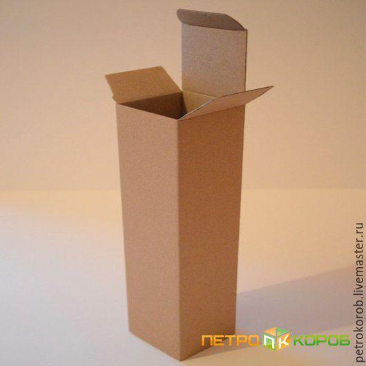 Упаковка ручной работы. Ярмарка Мастеров - ручная работа. Купить Самосборная коробка (0215) Размер: 7х4,2х22,1см. Handmade.