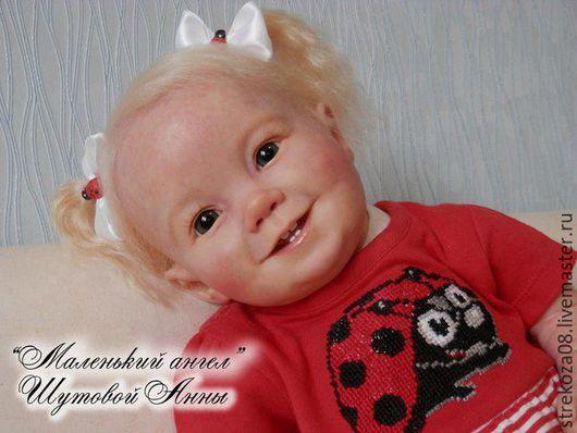 Куклы-младенцы и reborn ручной работы. Ярмарка Мастеров - ручная работа. Купить Кукла реборн Эмили. Handmade. Кремовый, медиумы