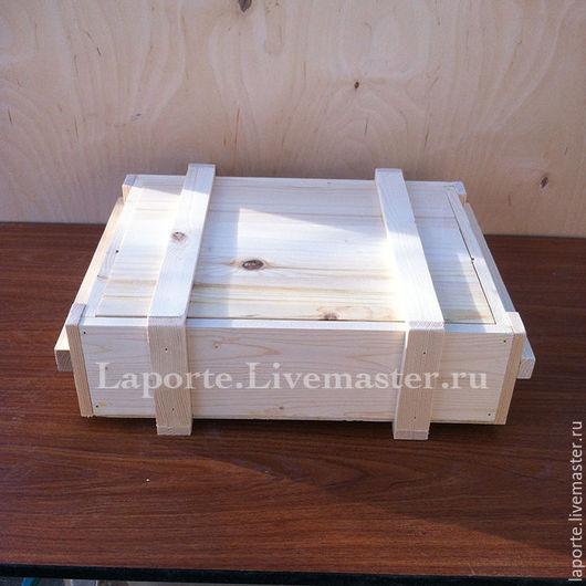 Подарочная упаковка ручной работы. Ярмарка Мастеров - ручная работа. Купить Военный ящик, подарочный, заготовка из дерева. Handmade. Ящик