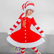 Одежда handmade. Livemaster - original item Festive Elf. Animator-actor suit/Cosplay/Masquerade costume. Handmade.
