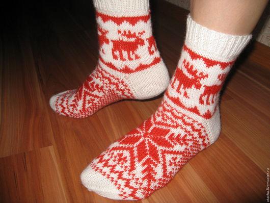Носки, Чулки ручной работы. Ярмарка Мастеров - ручная работа. Купить носки. Handmade. Белый, носки ручной работы
