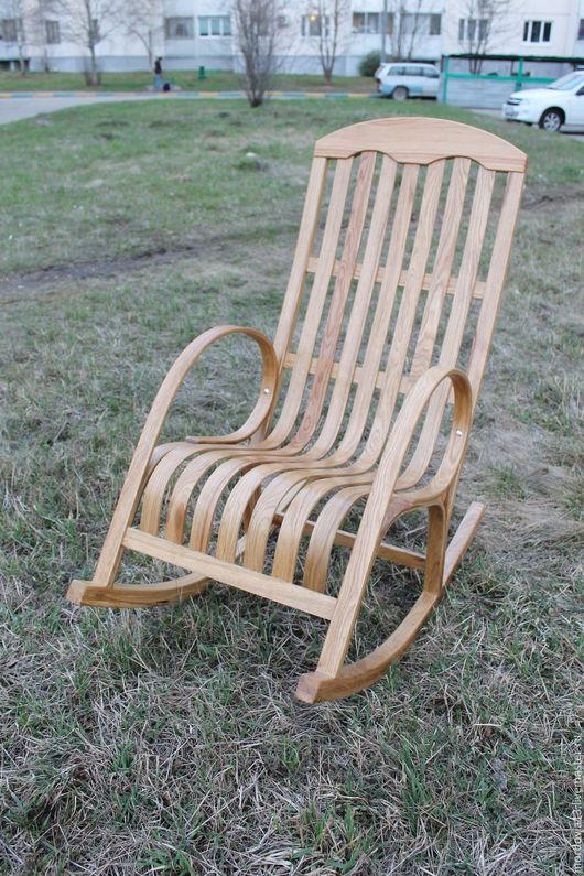 Мебель ручной работы. Ярмарка Мастеров - ручная работа. Купить Кресло качалка. Handmade. КРЕСЛО-КАЧАЛКА, дуб, мебель из дерева