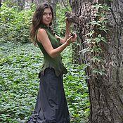 Одежда ручной работы. Ярмарка Мастеров - ручная работа Жилет валяный Лесная принцесса. Handmade.