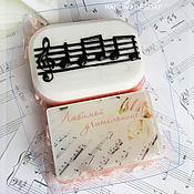 """Косметика ручной работы. Ярмарка Мастеров - ручная работа №1 Подарочный набор """"Любимой учительнице музыки"""", мыло ручной работы. Handmade."""