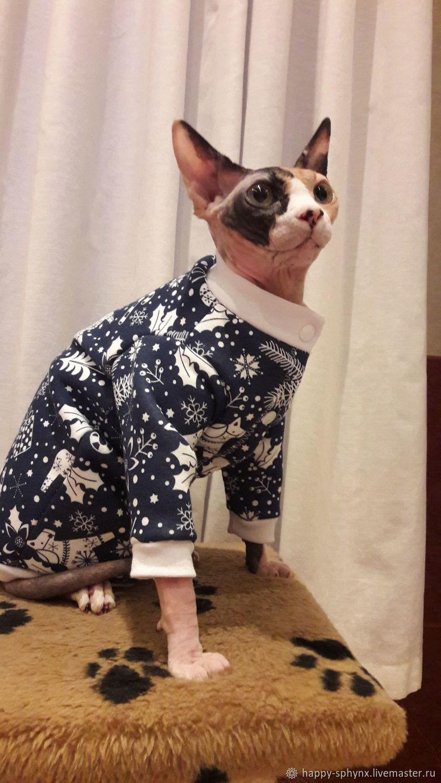 """Одежда для кошек """"кофта с начесом - Зимняя сказка"""", Одежда для питомцев, Бийск,  Фото №1"""