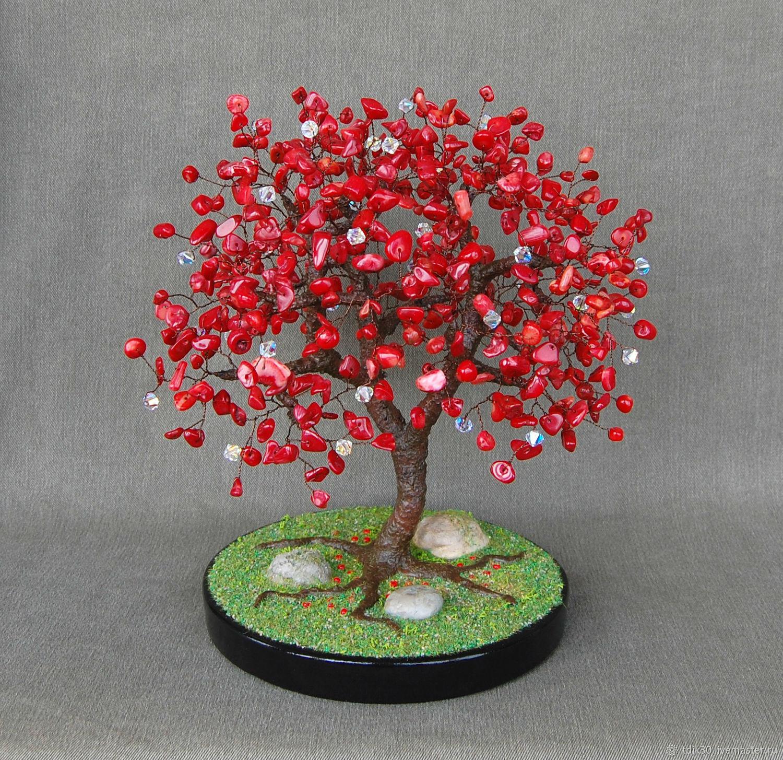 Дерево с кристаллами сваровски декоративные бретели