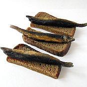 """Косметика ручной работы. Ярмарка Мастеров - ручная работа Мыло """"Бутерброд с рыбкой"""". Handmade."""