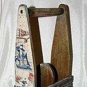 """Для дома и интерьера ручной работы. Ярмарка Мастеров - ручная работа Короб для вина (масла) """"Тайна семи морей"""". Handmade."""