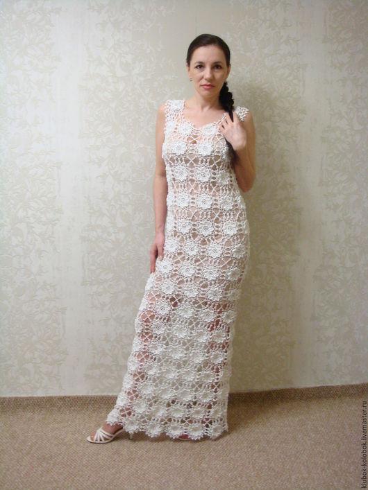 Платья ручной работы. Ярмарка Мастеров - ручная работа. Купить Белое платье. Handmade. Белый, свадебное платье, белое платье