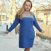 """Одежда ручной работы. Ярмарка Мастеров - ручная работа Нарядное платье """"Роскошь голубого"""". Handmade."""