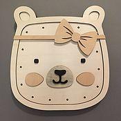 Элементы интерьера ручной работы. Ярмарка Мастеров - ручная работа Ночник Teddy girl. Handmade.