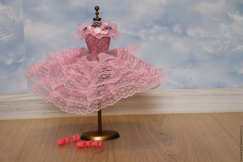 Как сшить платье балерины для барби