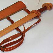 Меч ручной работы. Ярмарка Мастеров - ручная работа Меч детский деревянный тип H. Handmade.