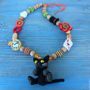 """Одежда ручной работы. Ярмарка Мастеров - ручная работа Слингобусы развивающие """"Алиса в стране чудес"""". Handmade."""
