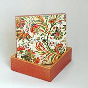 Для дома и интерьера ручной работы. Ярмарка Мастеров - ручная работа Короб для хранения Жар птица. Handmade.