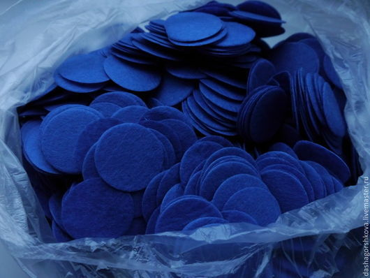 Цвет: синий. Размер: 35 мм, 40 мм