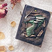 Канцелярские товары handmade. Livemaster - original item Notebook ancient dragon. Handmade.