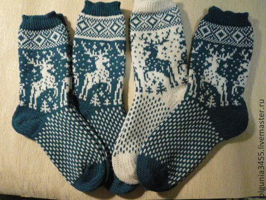 Носки, Чулки ручной работы. Ярмарка Мастеров - ручная работа. Купить Носочки для всей семьи. Handmade. Носки вязаные, носочки шерстяные