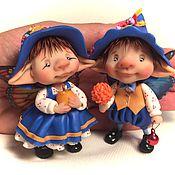 Куклы и игрушки ручной работы. Ярмарка Мастеров - ручная работа Осенние эльфы. Handmade.