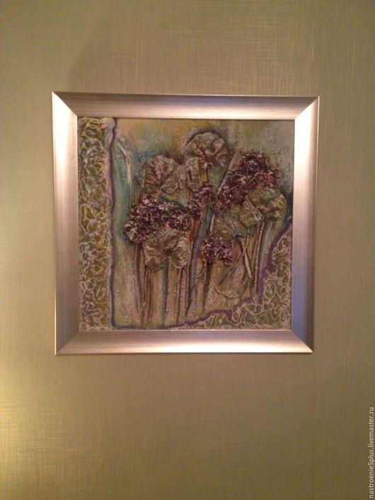 Картины цветов ручной работы. Ярмарка Мастеров - ручная работа. Купить Ажурное настроение. Handmade. Коллаж, картина с цветами, картина