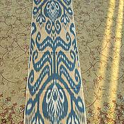 Материалы для творчества handmade. Livemaster - original item Uzbek cotton ikat hand weaving. F028. Handmade.