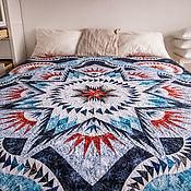 """Одеяла ручной работы. Ярмарка Мастеров - ручная работа Лоскутное одеяло """"Лёд и пламя """". Handmade."""