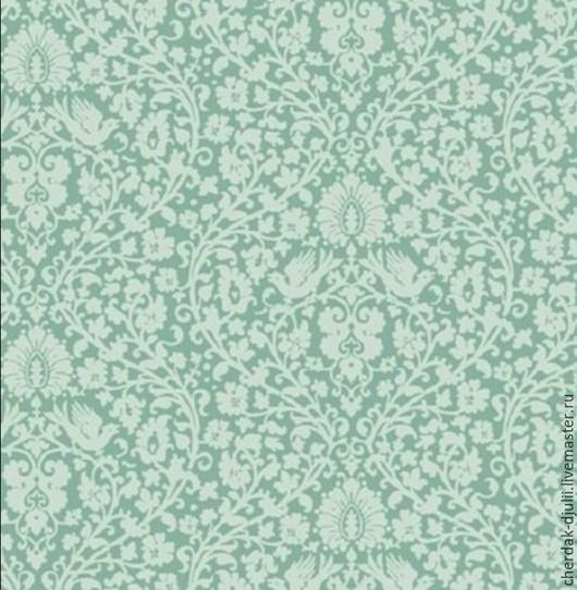 Куклы и игрушки ручной работы. Ярмарка Мастеров - ручная работа. Купить Ткань Tilda Addie blue green (Spring Lake), TF- 806. Handmade.