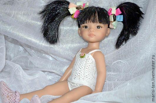 Одежда для кукол ручной работы. Ярмарка Мастеров - ручная работа. Купить комплект белья - сон куклы. Handmade. Белье для куклы