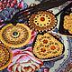 Украшения и аксессуары ручной работы. Заказать Подвеска круглая с янтарем. Подарки на все случаи жизни (beresta-ural). Ярмарка Мастеров. Подвеска