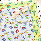 Материалы для творчества ручной работы. Ярмарка Мастеров - ручная работа НОВИНКА! (№97)Ткань ситец хлопок 100% для тильды, шитья и пэчворка. Handmade.