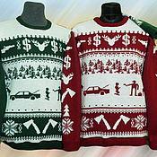 Одежда ручной работы. Ярмарка Мастеров - ручная работа Тату-свитер - Фарго. Handmade.