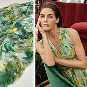 Материалы для творчества handmade. Livemaster - original item Fabric: Silk chiffon Max Mara. Handmade.