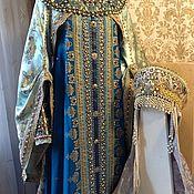 Одежда ручной работы. Ярмарка Мастеров - ручная работа Боярский костюм Лада. Handmade.
