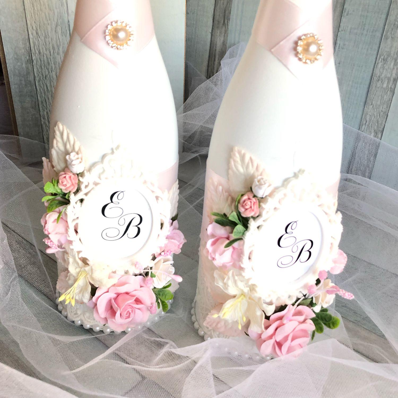эскизы свадебных бутылок фото небольшого нюанса одна