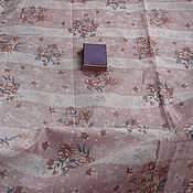 Ткани ручной работы. Ярмарка Мастеров - ручная работа 300 х 78 см. Ткань ситец, винтаж.. Handmade.