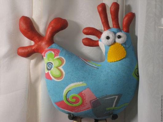Новый год 2017 ручной работы. Ярмарка Мастеров - ручная работа. Купить Мягкая игрушка Петушок. Handmade. Комбинированный, мягкая игрушка